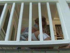 Fayth gefesselt und auf ihrer Terrasse geknebelt!