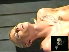 P0 Extreme pain Meat and fish hooks brutal pussy and nipple torture
