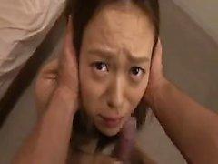 Азиатский минет и трахается с Hinata