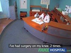Paciente FakeHospital escucha puto médico enfermera luego lo folla demasiado