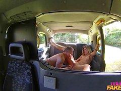 Drivers Eva Johnson corpo apertado cobertas na Cum