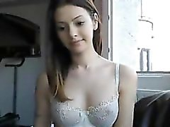 Pretty Cam Girl Teasing