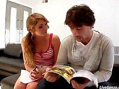 LiveGonzo a Jessie di andrews Julia Ann teenager dolce con suocera