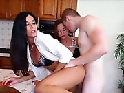 Horny milf loves phone sex and gets laid