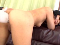 Saki Umita bends for cock duri - More at japanesemamas