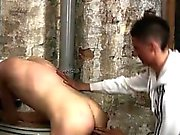 Porno gay blowjob movie straight bondage He's well-prepped t