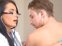 Beautiful Doctor Nymphomaniac Sex Machine