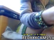Caliente hijo digitación su chocho jugoso además juegos anales en webcam Las directo de Leake