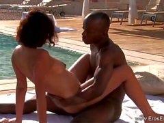 Ebony Couple Learning To Make Love