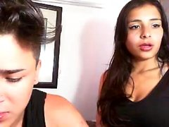 Latin amateur teen in store hidden cam HD