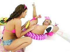 lesbiche estrema Fist anale