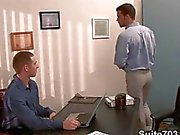 Azgın twinks gay ofis