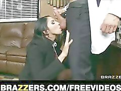 Submissive office assistant Missy Martinez finally fucks her boss