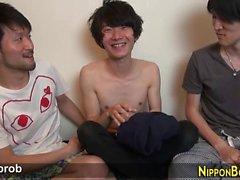 Japanilainen twinks suutari
