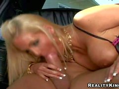 Ben English fucks Phoenix Marie in limo