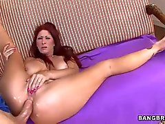 Milf Tiffany Mynx with big wet ass enjoys Anal sex