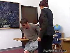 guy spanked by teacher
