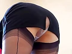 Maid MILF Spy Upskirt