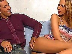 Check out harten schlagen Sitzung mit einer shelady Mädchen