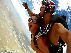 Сексуальное Skydive