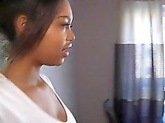 Exotiska brunett list för kamera