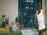 Keira Knightley hard nipples poking through some white tank