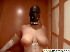 Compilation of Ladies in Leather Masks