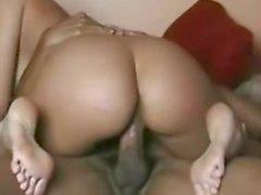 Latina Wife Fucks Black Friend and Takes Cum