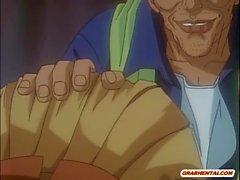 Hentai Coed Darstellung ihre Muschi