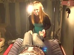 Milf Ticha tickled