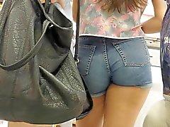 stesso sexy pantaloncini corto blu