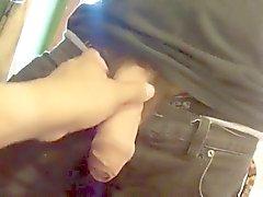 Minha amigo Hetero Letiing -me jogar com seu pau