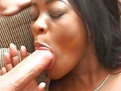 Sexy Black Teen 1. Anal MMF Interracial