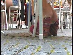 Der nette Wedge-Sandale Mädchen