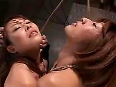 Two sultry Japanese ladies bring their bondage fetish fanta