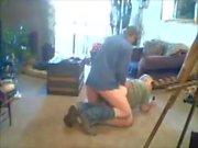 Redneck Rimmed et baise rugueuse après le travail.