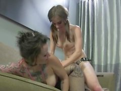"""girls vs girls"" - best of rough & passionate strapon sex - hot babes only!"