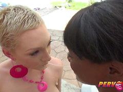 PervCity Cumswap Dreier Ana Foxxx und Lily Labeau