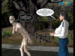 3D Comic : Langsuir Паралипоменон . Episodes 10-11