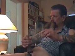 Fumeur et des secousses