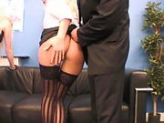 Secretaries enjoy some hard big shaft