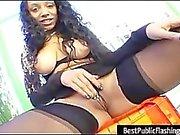 Misty Love - Chocolate Honey Flashing Babe Part 3