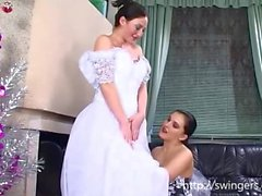 Last lesbo fetish before wedding