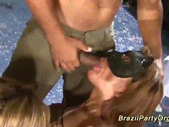 grande cazzo Inculata con festa brazil orgia