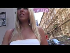 PublicAgent Hot Hungarian blonde Kelly gets fucked in a restaurant toilet