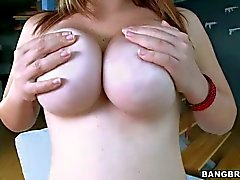Great Big breasts on Tiffany Cross