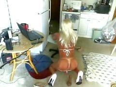 Bikini bimbo granny tranny