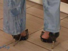 Reizvolles Naty Feucht Jeans in Küche