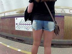 Shorts und Strumpfhosen