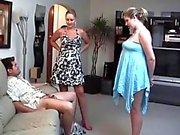 Showing her girlfriend